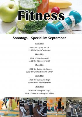 B1 Fitness Sonntagskurse