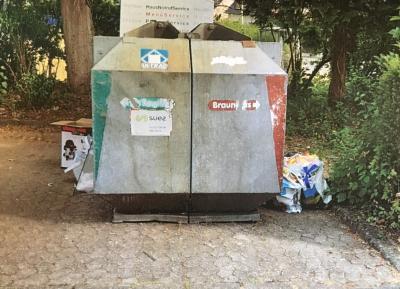 Vorschaubild zur Meldung: Illegale Müllablagerungen verunstalten unseren Ort