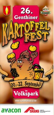 Foto zu Meldung: 26. Genthiner Kartoffelfest vom 20. bis 22. September 2018