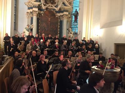 Foto zu Meldung: 26. Festkonzert zum Tag der Deutsche Einheit mit dem Kammerchor Porta Westfalica am 2. Oktober 2019 um 19 Uhr in der St. Trinitatis Kirche Genthin
