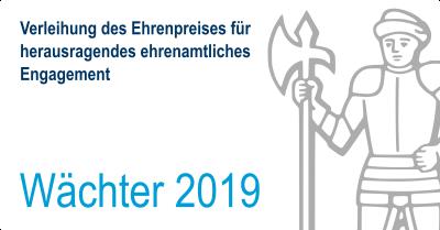 """Vorschaubild zur Meldung: Verleihung des """"Wächters 2019"""""""