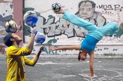 © Fußballartisten Miriam Willems und Sebastian Heller