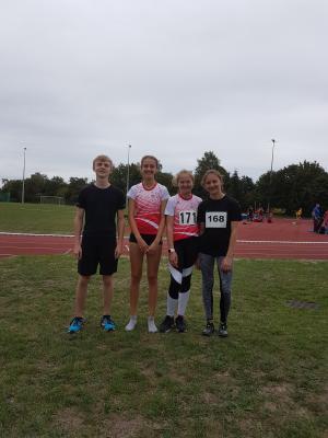 Moritz, Greta, Emmi und Franca (Foto: G. Barke)