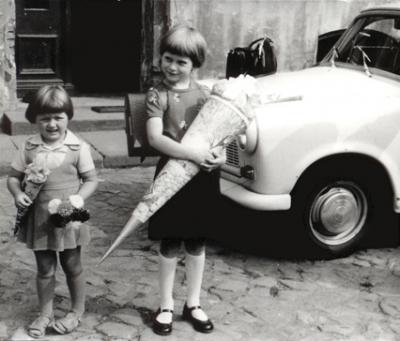 Foto zur Meldung: Zuckertüten-Ausstellung auf Schloß Reckahn