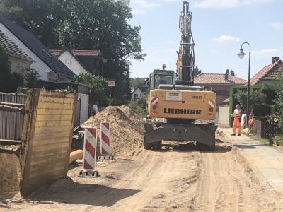 Foto zur Meldung: Ausbau Belziger Straße im Zeitplan