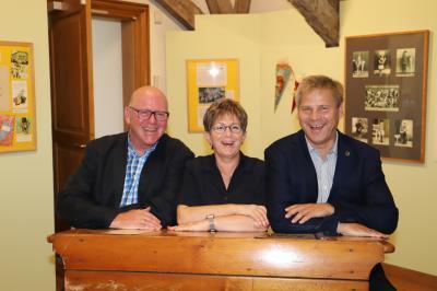Foto zur Meldung: Tiemann tourt durch Kloster Lehnin