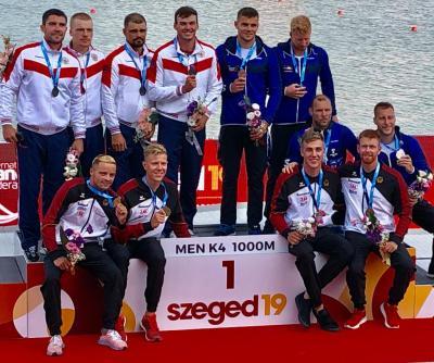 Foto zur Meldung: EILMELUNG - Jakob Thordsen ist erneut Weltmeister im K4 geworden!