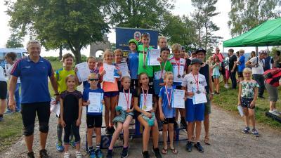 Foto zur Meldung: 20 Medaillen bei den Thüringer Sommermeisterschaften