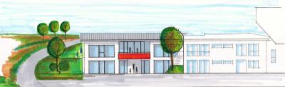 Foto zur Meldung: - Erweiterung der Kindertagesstätte