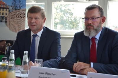 Foto zur Meldung: Klinikum Niederlausitz stellt sich auf für eine sichere Zukunft