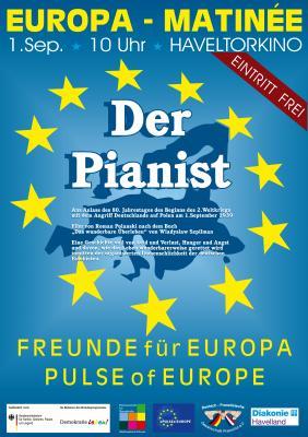 """Foto zur Meldung: """"Der Pianist"""" in der Europa-Matineè am 1.September um 10.00 Uhr"""