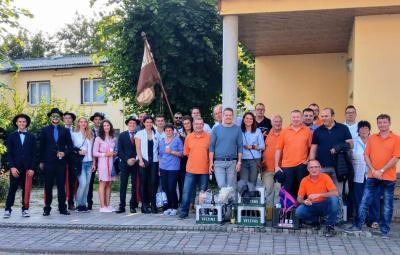 Foto zur Meldung: Nazzaer Kirmesverein on tour