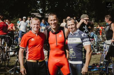 Foto zur Meldung: Gemeinde Sülstorf beim Triathlon in Parchim vertreten