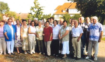 Foto zur Meldung: Klassentreffen nach 70 Jahren Einschulung