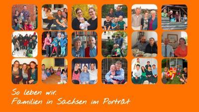 """Vorschaubild zur Meldung: Ausstellung - """"So leben wir – Familien in Sachsen im Porträt"""""""