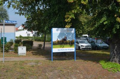 Stadt Perleberg | Ansicht auf die Bildgestaltung aus Richtung Brücke Pferdeschwemme