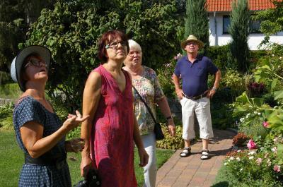 Foto zur Meldung: Zu Besuch bei Christiane und Winni Siebert in Wittstock