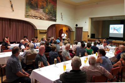 Bürgerversammlung in Kunths Gaststätte