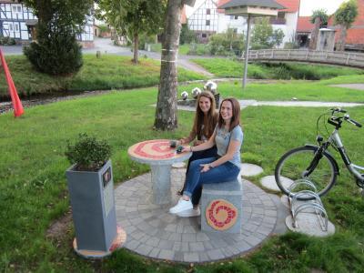 """Foto zur Meldung: - Neuer Rastplatz in Bodes """"AREA 36282"""""""