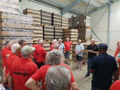 Foto zu Meldung: Rheinböller Feuerwehraltersabteilung unterwegs