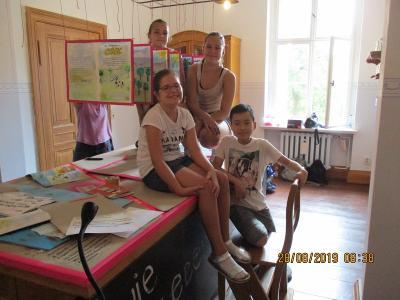Vorschaubild zur Meldung: Grund- und Oberschule S. Allende: Ausstellung im Oderbruch- Museum Altranft gestaltet