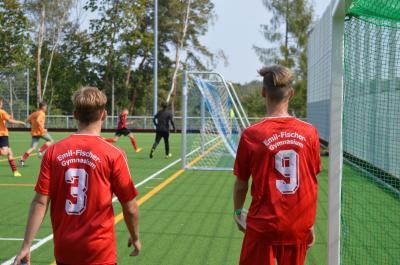 Vorschaubild zur Meldung: Jugend trainiert - Vorrunde Fußball WK II in Lauchhammer