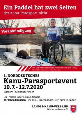 Kanu-Parasport Event 2020