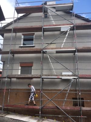 Vorschaubild zur Meldung: Es ist Fassadenzeit...