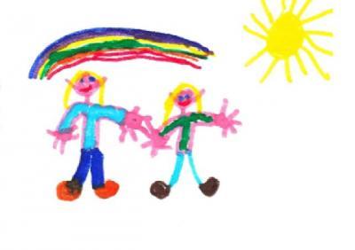 """Vorschaubild zur Meldung: """"Hurra, wir sind jetzt Regenbogenkinder"""""""