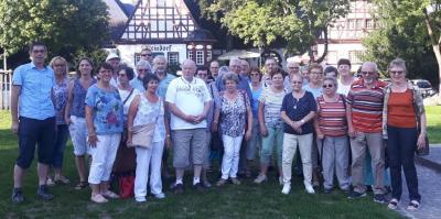 Gruppenbild vom Seniorenausflug