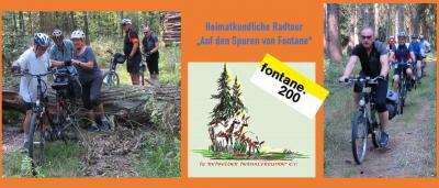 """Foto zur Meldung: Heimatkundliche Radwanderung  """"Auf den Spuren von Theodor Fontane in den Blumenthal"""""""