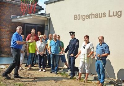 Foto zur Meldung: Dorf-Gemeindezentrum Lug feierlich eingeweiht