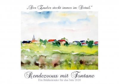 Foto zur Meldung: Rendezvous mit Fontane - Kalender 2020 - ... noch einige Exemplare vorhanden