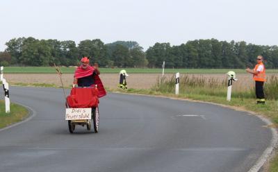 Foto zu Meldung: Rietzer Einzelzeitfahren mit Radteufel Didi