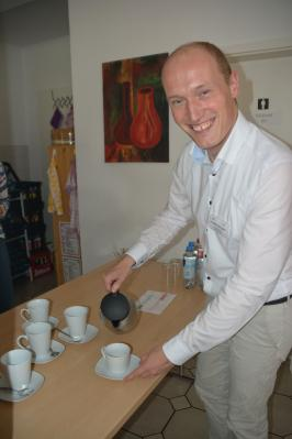 Foto zur Meldung: Einen Kaffee trinken mit dem Bürgermeister