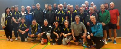 Vorschaubild zur Meldung: Tischtennis Turnier der Freizeitmannschaft war ein voller Erfolg