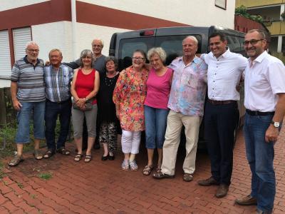Foto zur Meldung: TV Nauheim übernimmt Trägerschaft für Bürgerbus