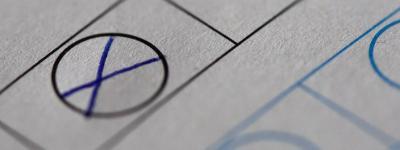 Vorschaubild zur Meldung: Stichwahl zur Wahl des hauptamtlichen Bürgermeisters am 15.09.2019
