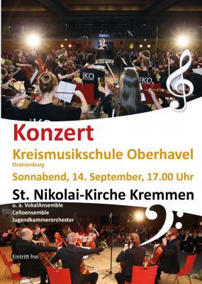 Vorschaubild zur Meldung: Kreismusikschule in Kremmen