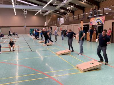 Foto zur Meldung: Lust auf einen trendigen Wurfsport - dann spielt Cornhole beim TuS Jahn Lindhorst