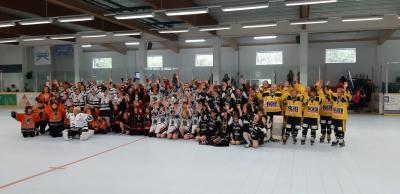Vorschaubild zur Meldung: Panthernachwuchs erreicht 3. Platz beim Bau King Schüler Cup in Iserlohn