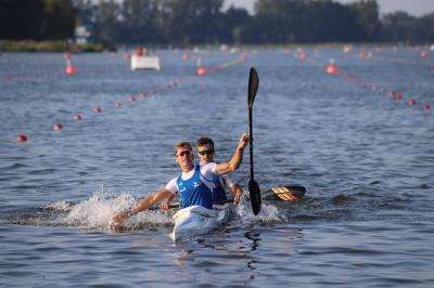 Foto zur Meldung: Hannoversche Kanurennsportler mischen die deutsche Meisterschaft auf