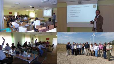 Foto zu Meldung: Energieexperten aus Kolumbien besuchten Rehfelde