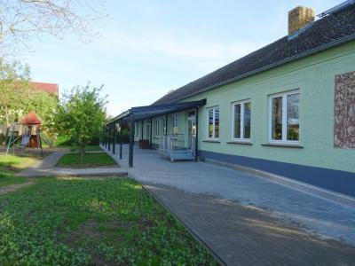 Foto zur Meldung: Während des Sommerfestes erfolgt die Einweihung der sanierten Kita in Göhlsdorf
