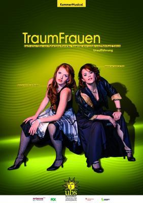 Udo Krause | Plakat zum Theaterstück TraumFrauen (ubs)