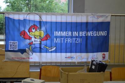 Vorschaubild zur Meldung: Immer in Bewegung mit Fritzi in Lauchhammer