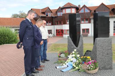 Foto zur Meldung: Gedenken an unsere tödlich verunfallten Kameraden