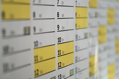 Vorschaubild zur Meldung: Kalendarium online
