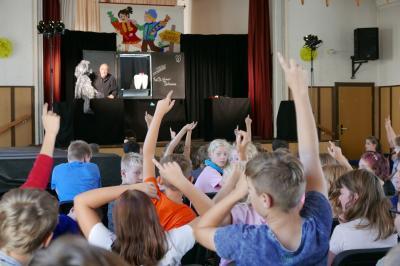 """Foto zur Meldung: """"Gesund beginnt im Mund"""" - Tag der Zahngesundheit in der Europaschule Lauchhammer kam gut an"""
