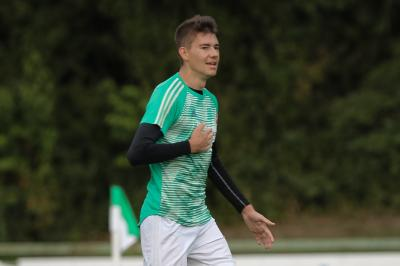 Foto zur Meldung: Kohlbauer macht viel umjubelten Siegtreffer in Deggendorf